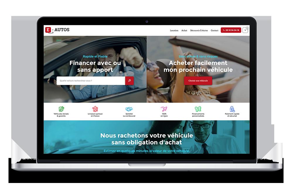 site internet e-auto